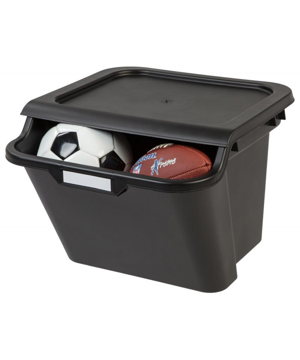 Stacking Recycling Bin, Black