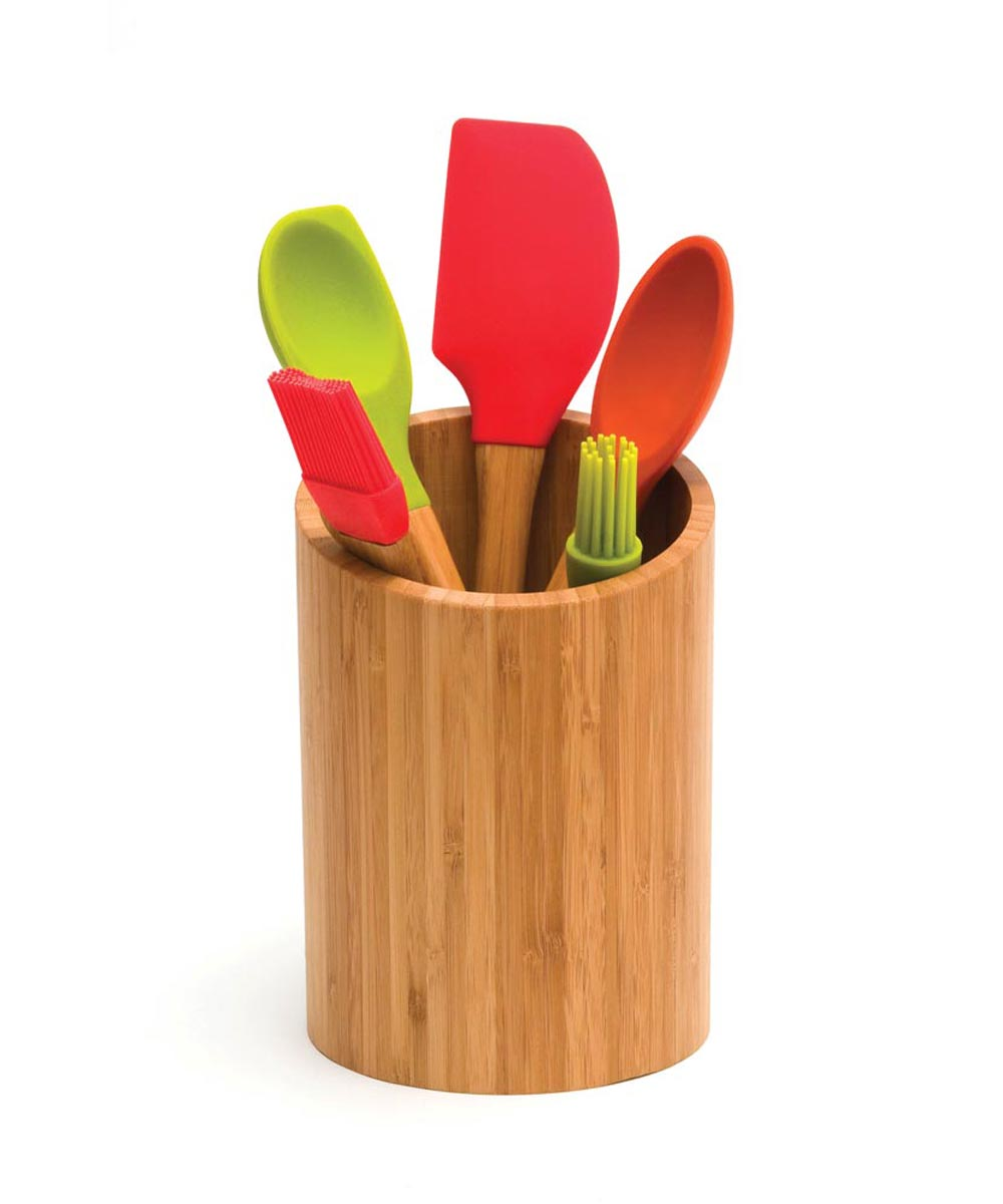 Bamboo Kitchen Tool Holder