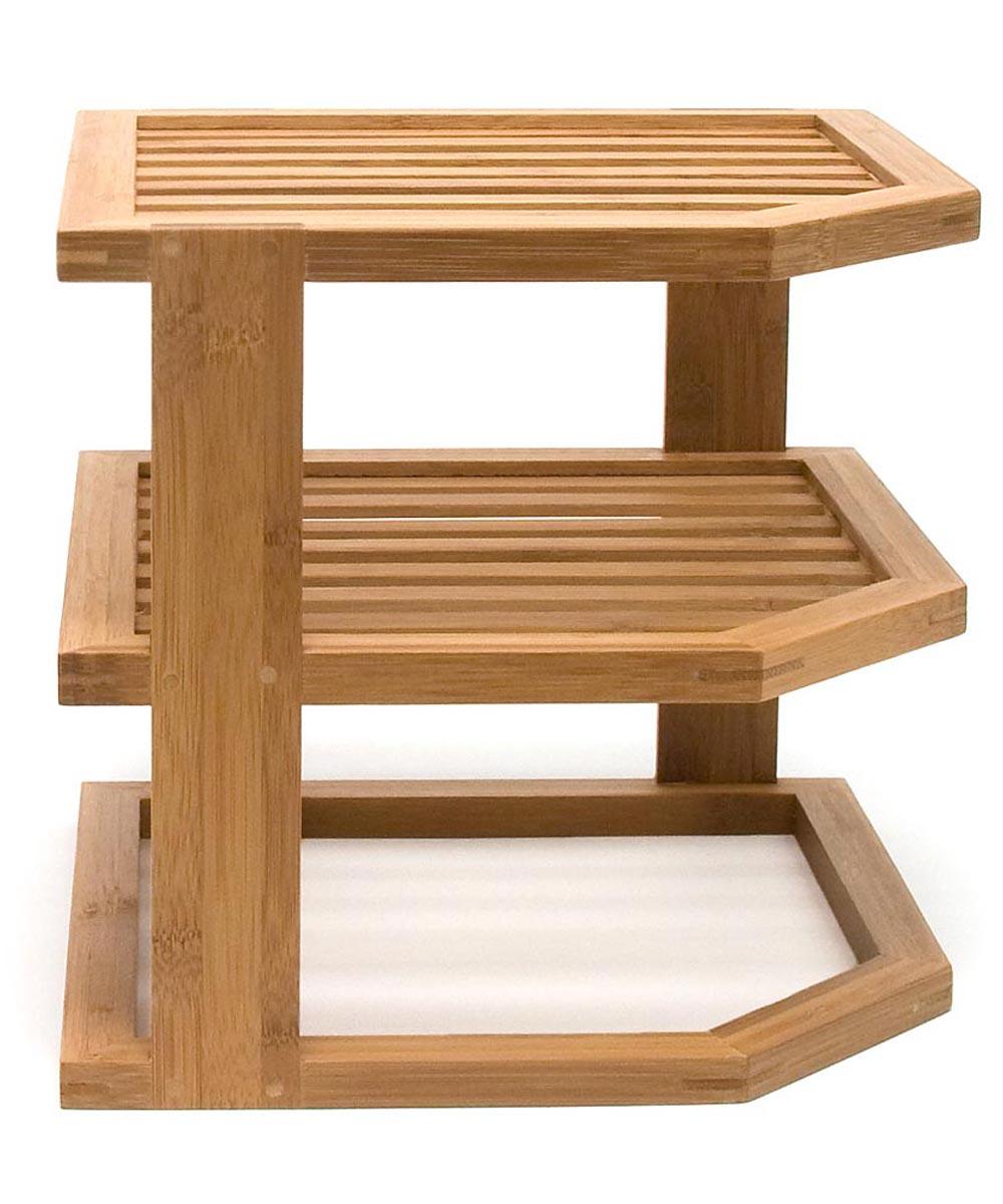 3-Tier Corner Kitchen Storage Shelf