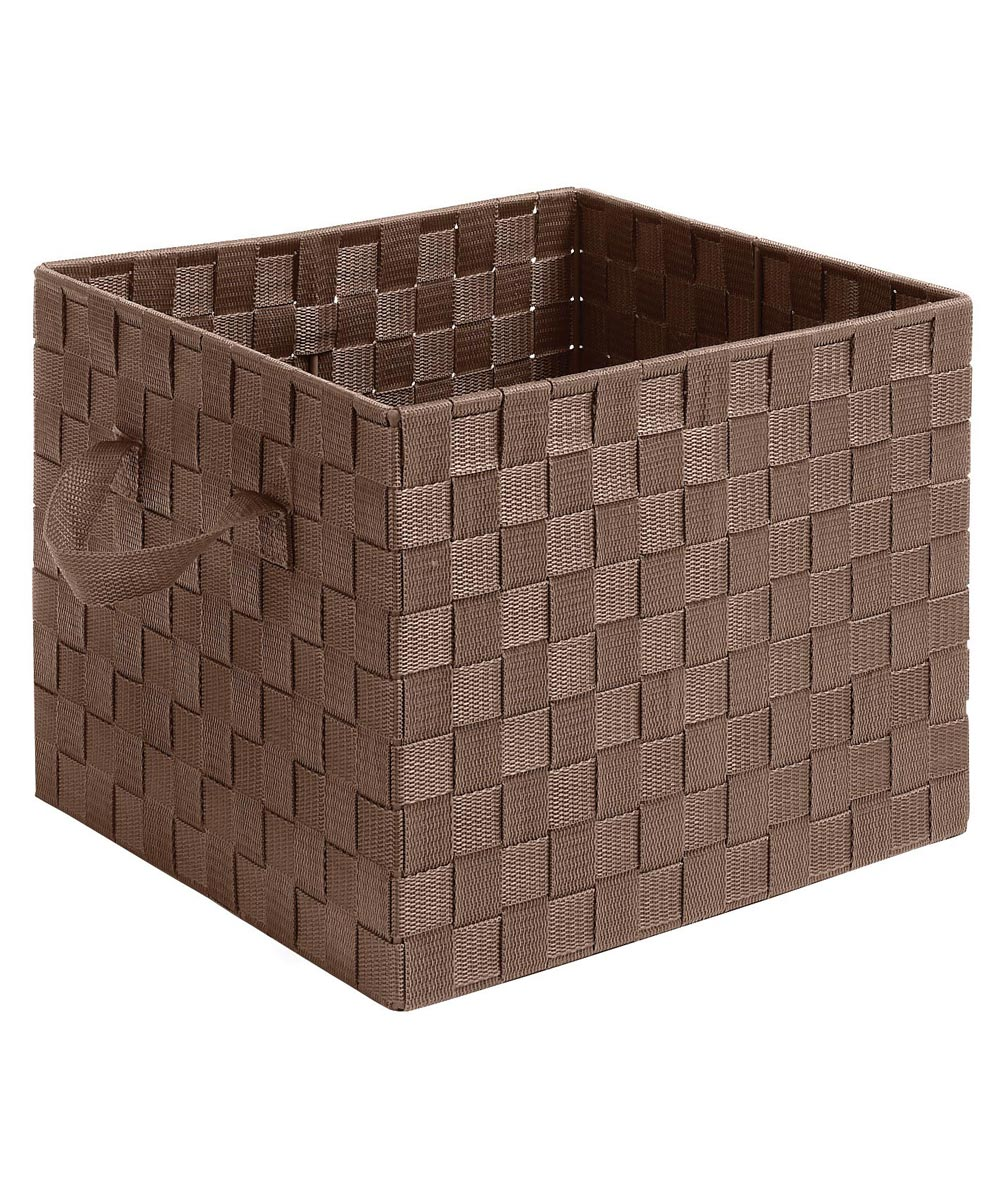 Java Woven Storage Crate with Straps