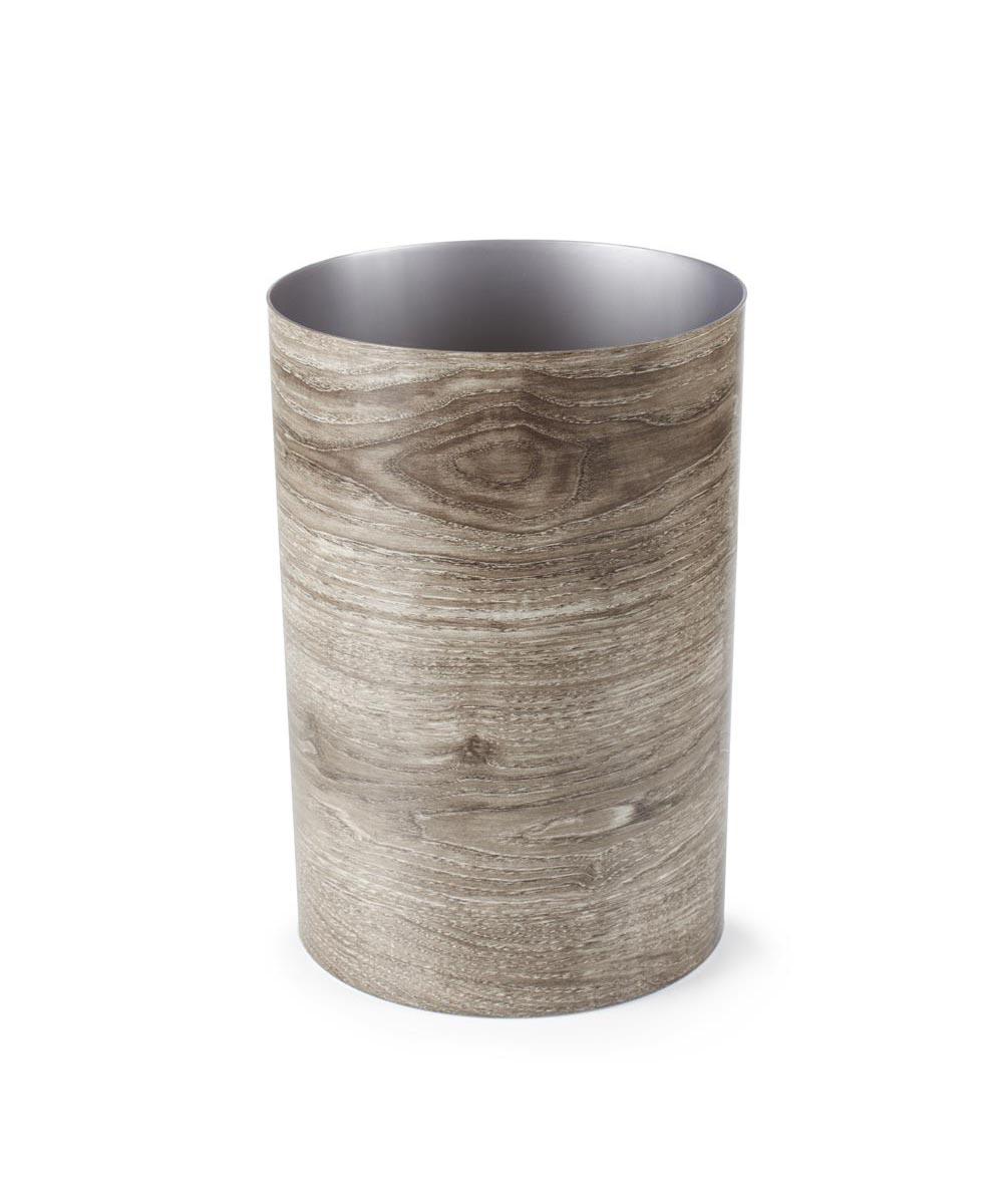 Treela Trash Can, Barnwood Color