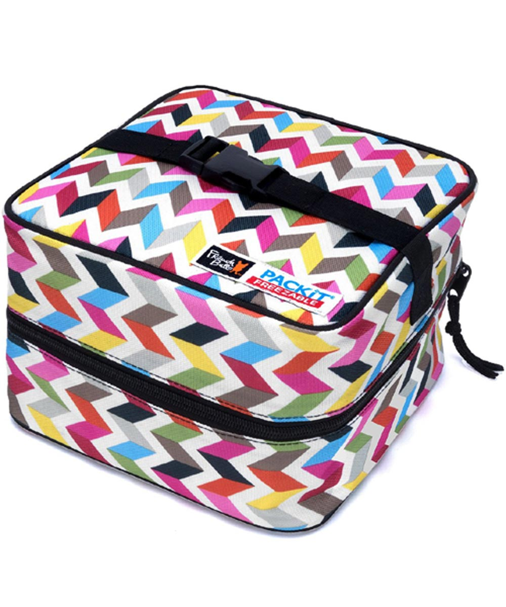 Freezable Salad Bag, Ziggy Design