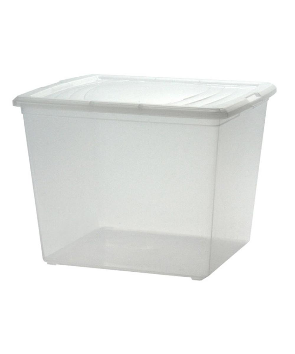 Modular Storage Box (Deep Sweater Box), Clear, 34 Quarts / 8.5 Gallons