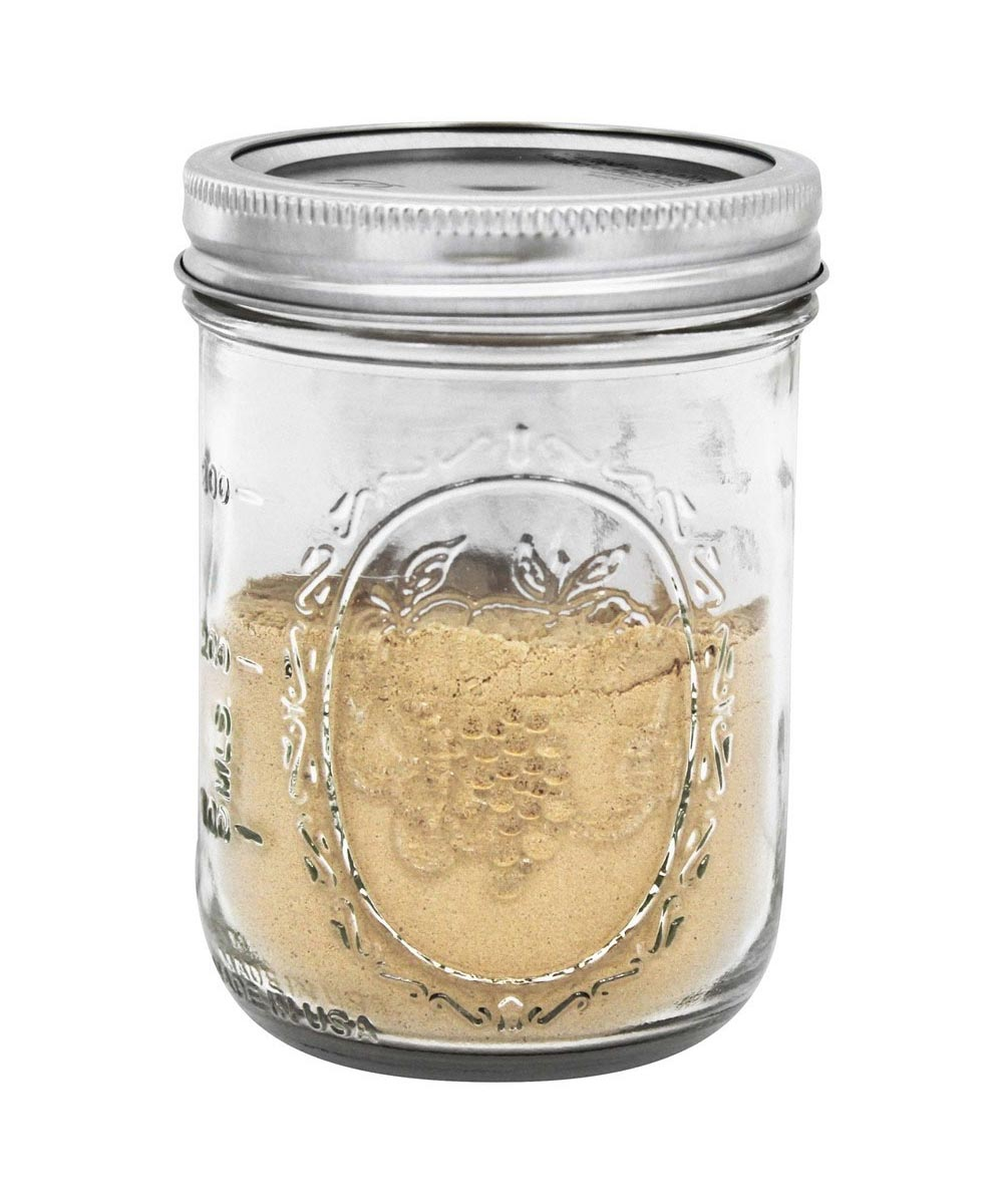 16 Ounce / 1 Pint Wide Mouth Mason Canning Jar