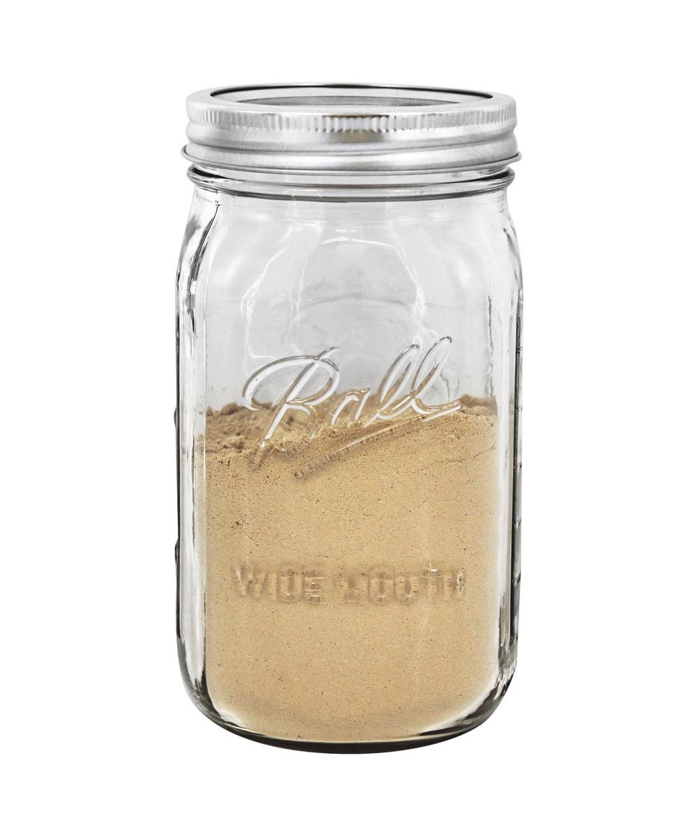 32 Ounce / 1 Quart Wide Mouth Mason Canning Jar