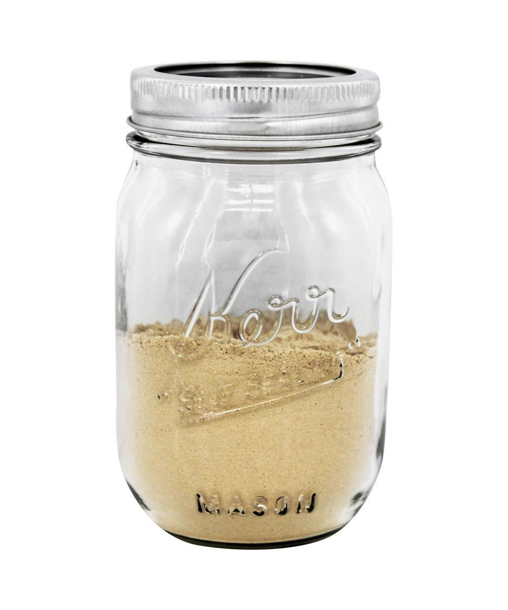 16 Ounce / 1 Pint Regular Mouth Mason Canning Jar