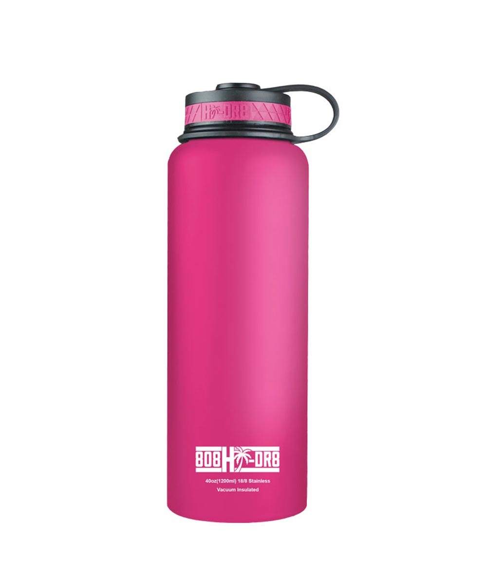 40 oz Stainless Steel Vacuum Insulated Water Bottle, Paradise Pink