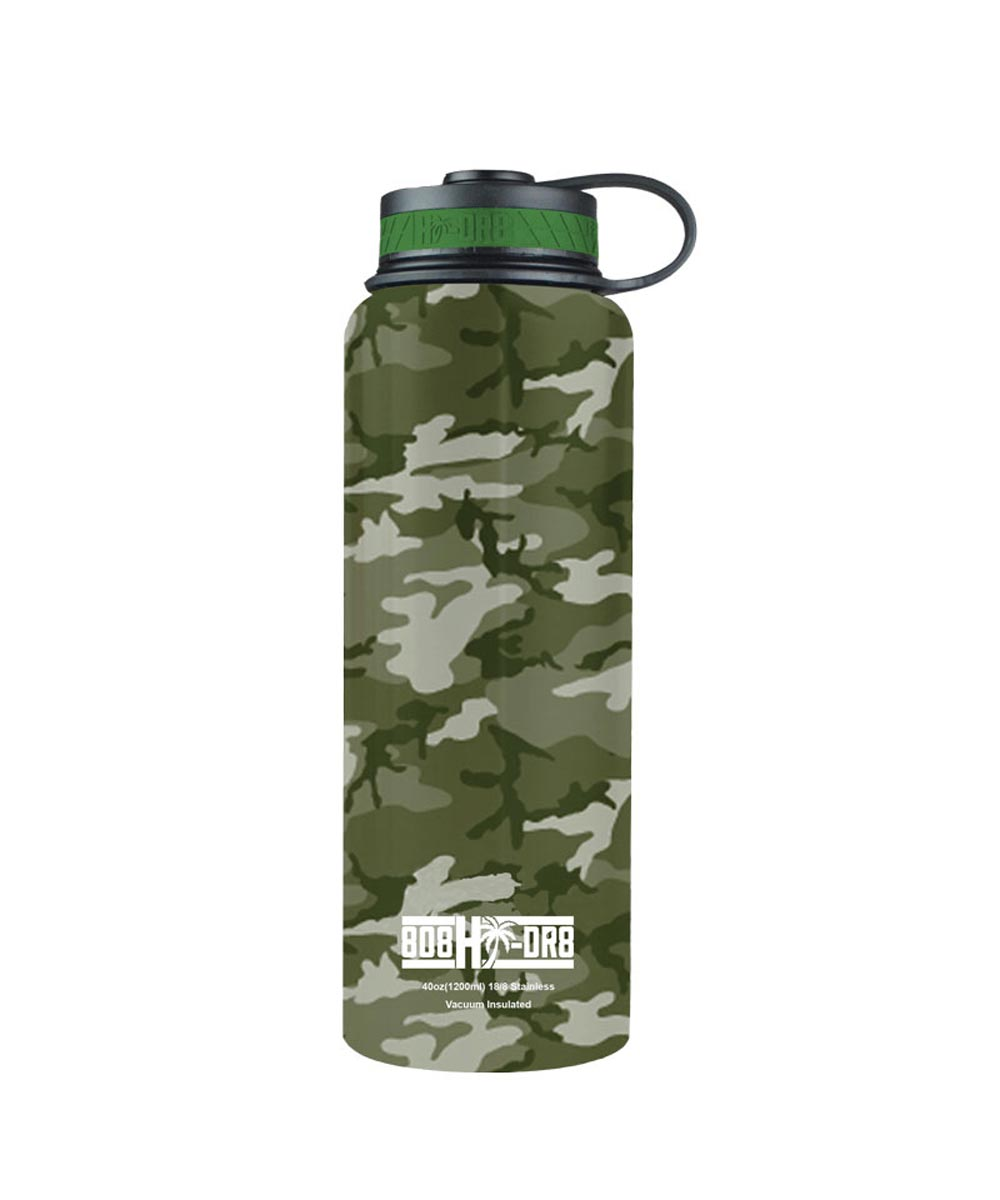 40 oz Stainless Steel Vacuum Insulated Water Bottle, Ko'olau Camo