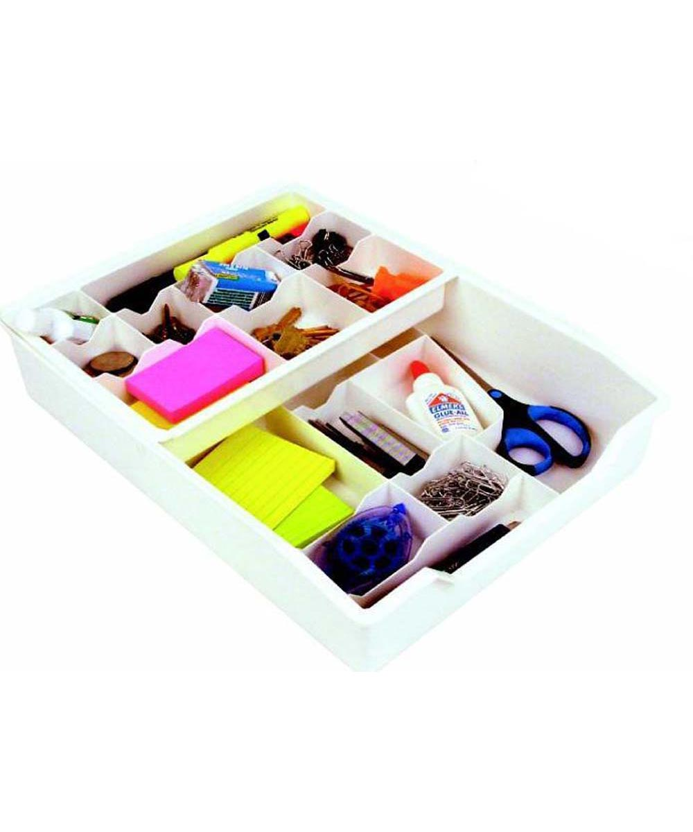 Everything Drawer Organizer, White