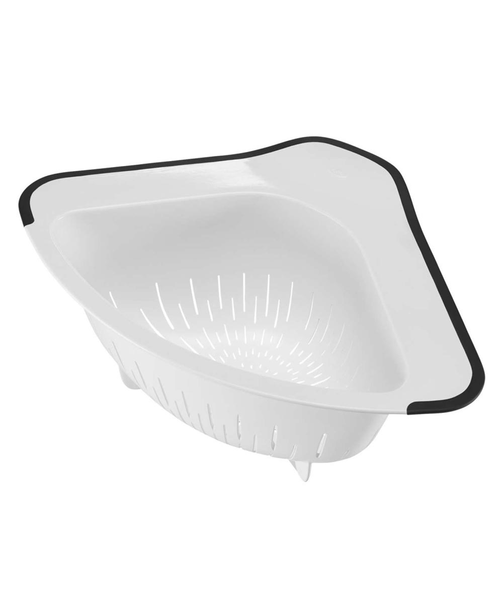 Over-The-Corner Sink Colander