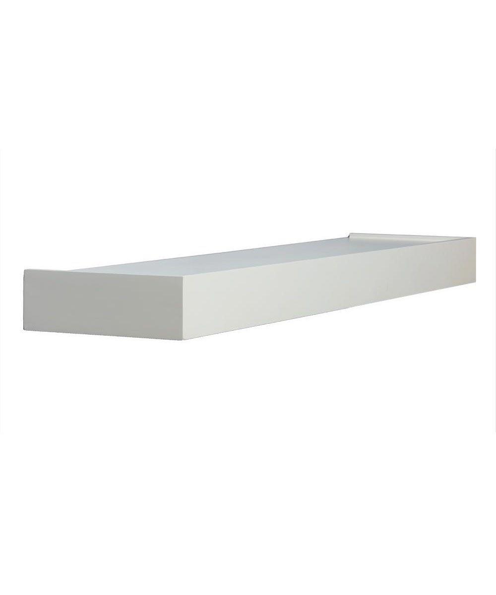 36 Inch Floating Wall Shelf Kit, White
