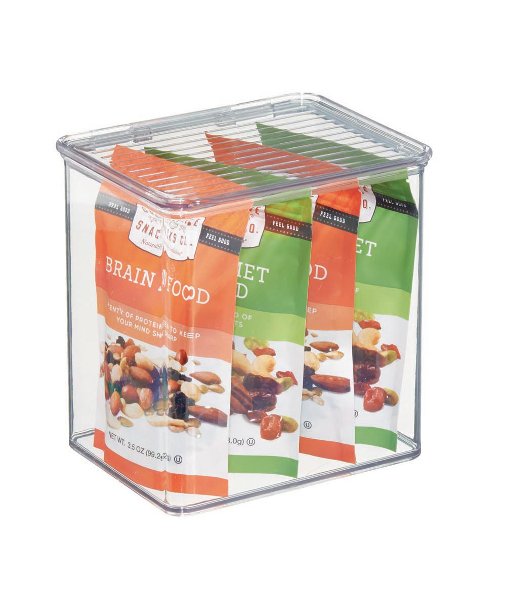 Kitchen Binz Box with Cover, 5.5 x 6.6 x 7.0 Inches