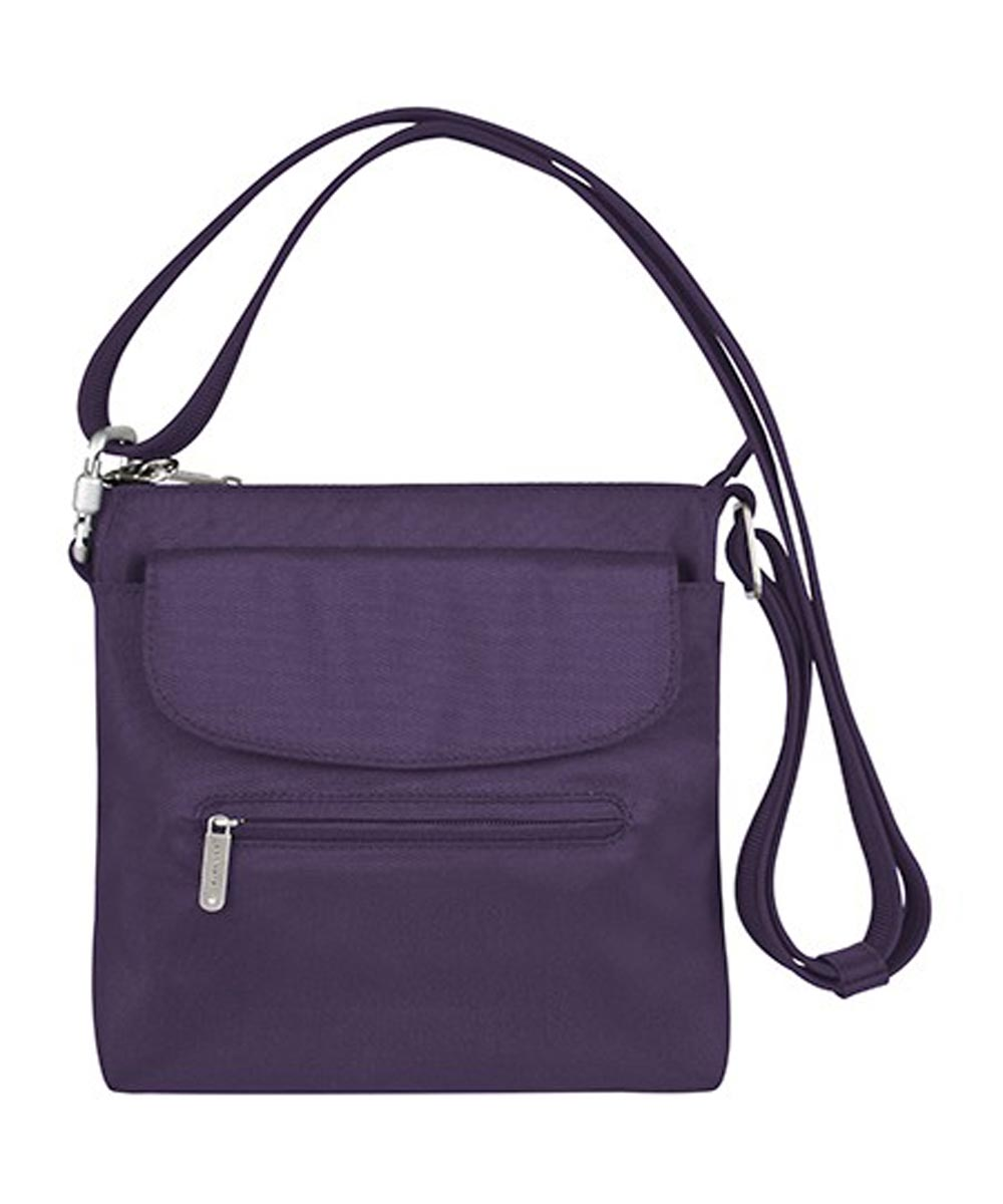 Anti-Theft Classic Mini Shoulder Bag, Purple