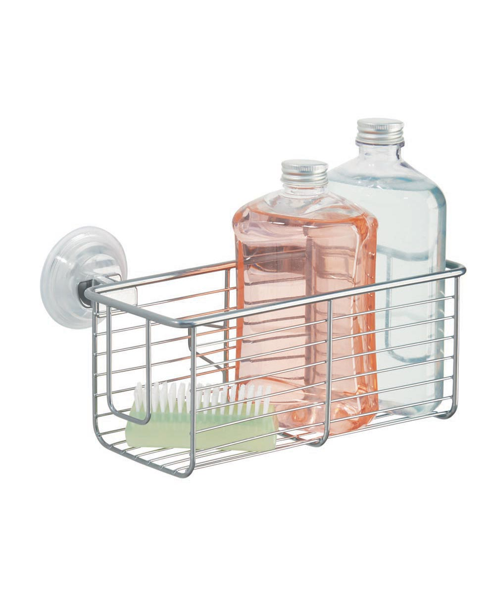 Classico Bathroom Suction Metal Basket Caddy