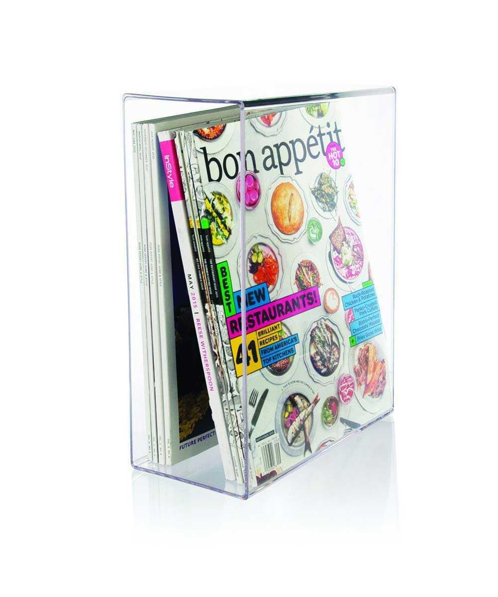 Acrylic Magazine Holder