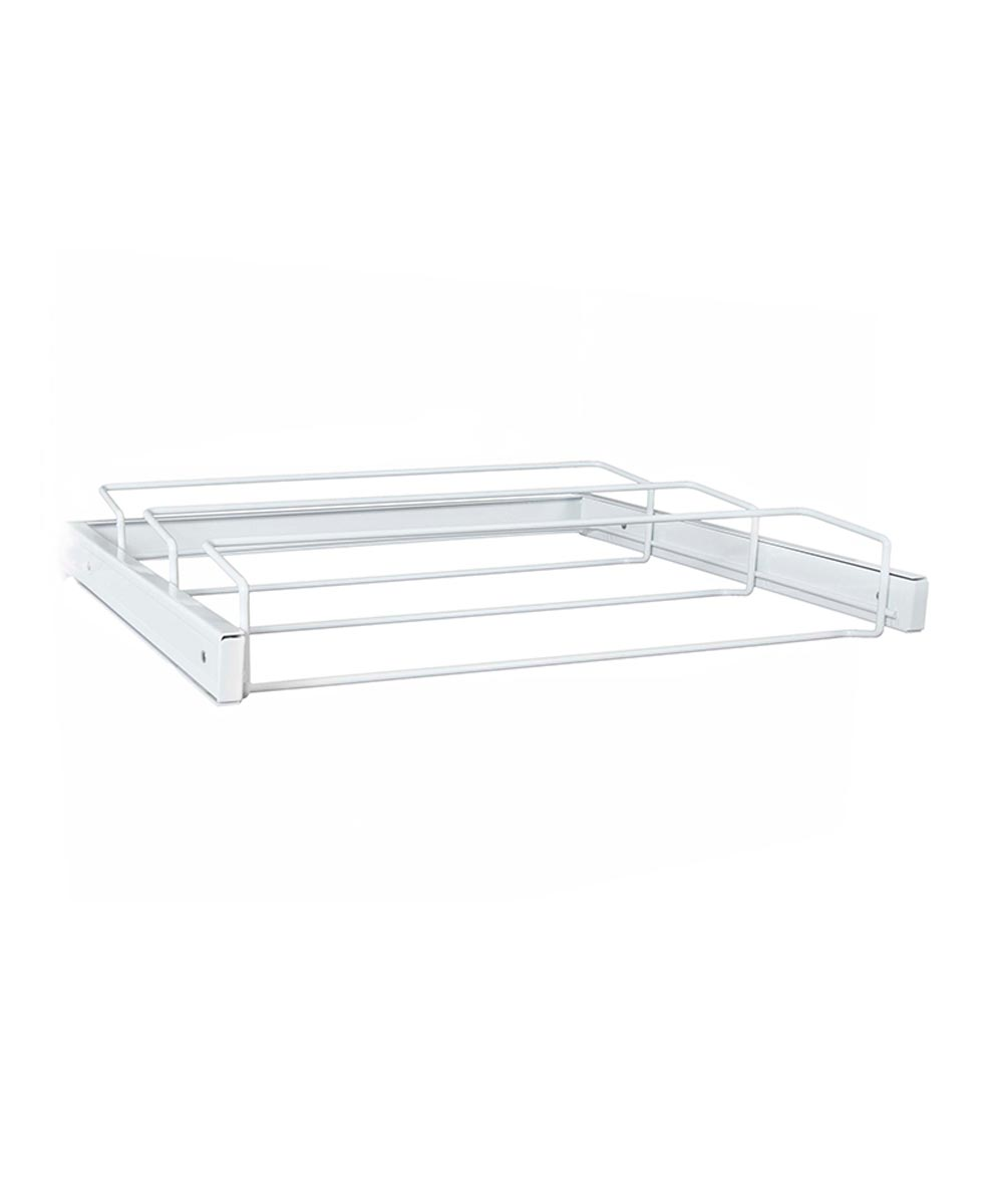 Reveal Womens Shoe Rack, White