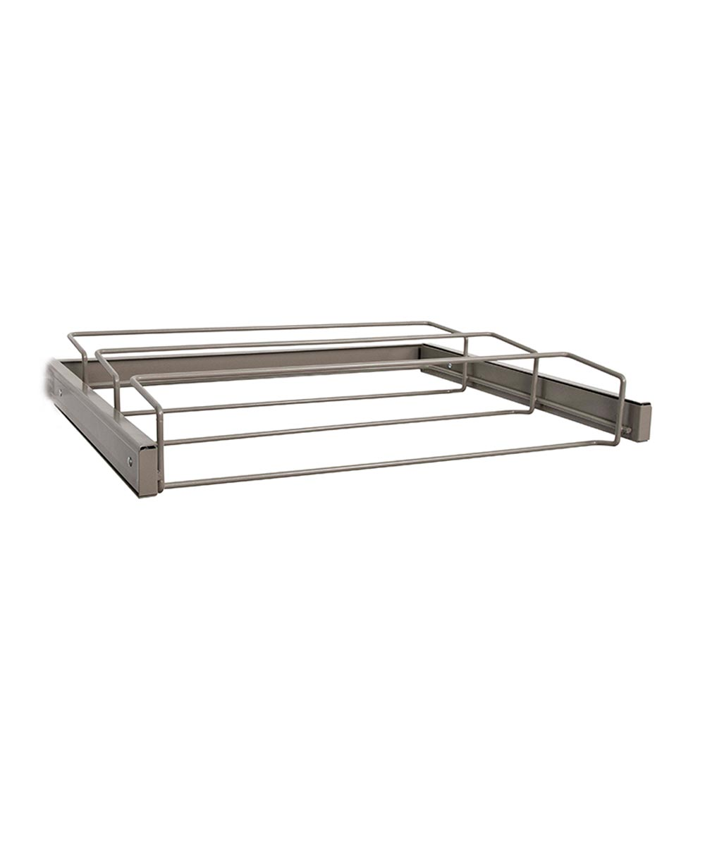 Reveal Womens Shoe Rack, Nickel