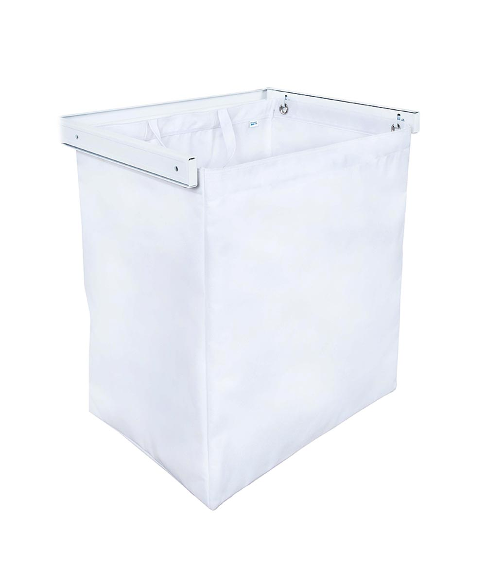 Reveal Clothes Hamper, White