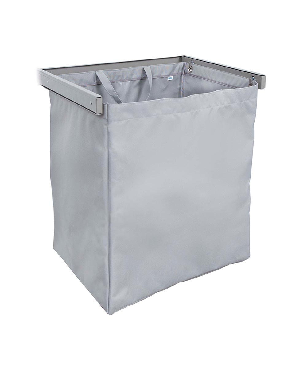 Reveal Clothes Hamper, Nickel