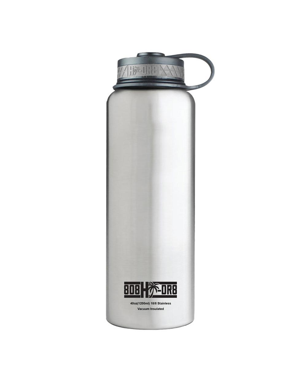 40 oz Stainless Steel Vacuum Insulated Water Bottle, Stainless Steel