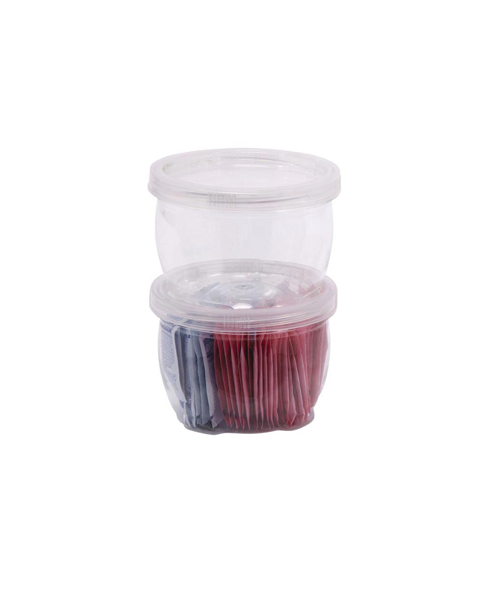 Medium Lock-Ups Stackable Jar, 8 Ounces