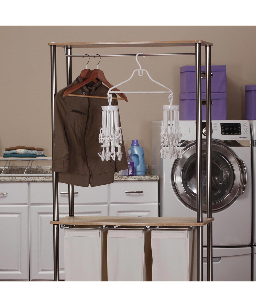 Hanging Carousel Clothes Dryer, 20 Clips