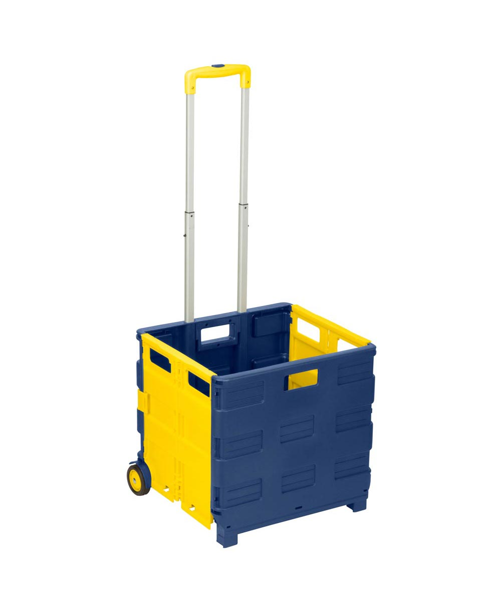 Folding Utility Carry-All Crate Cart