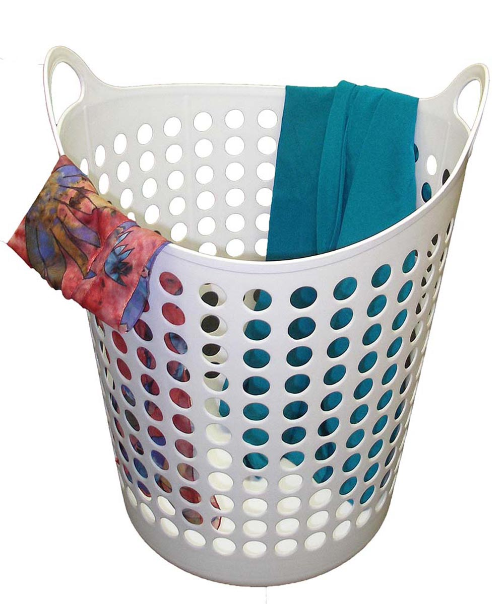 Large Laundry Basket, Assorted