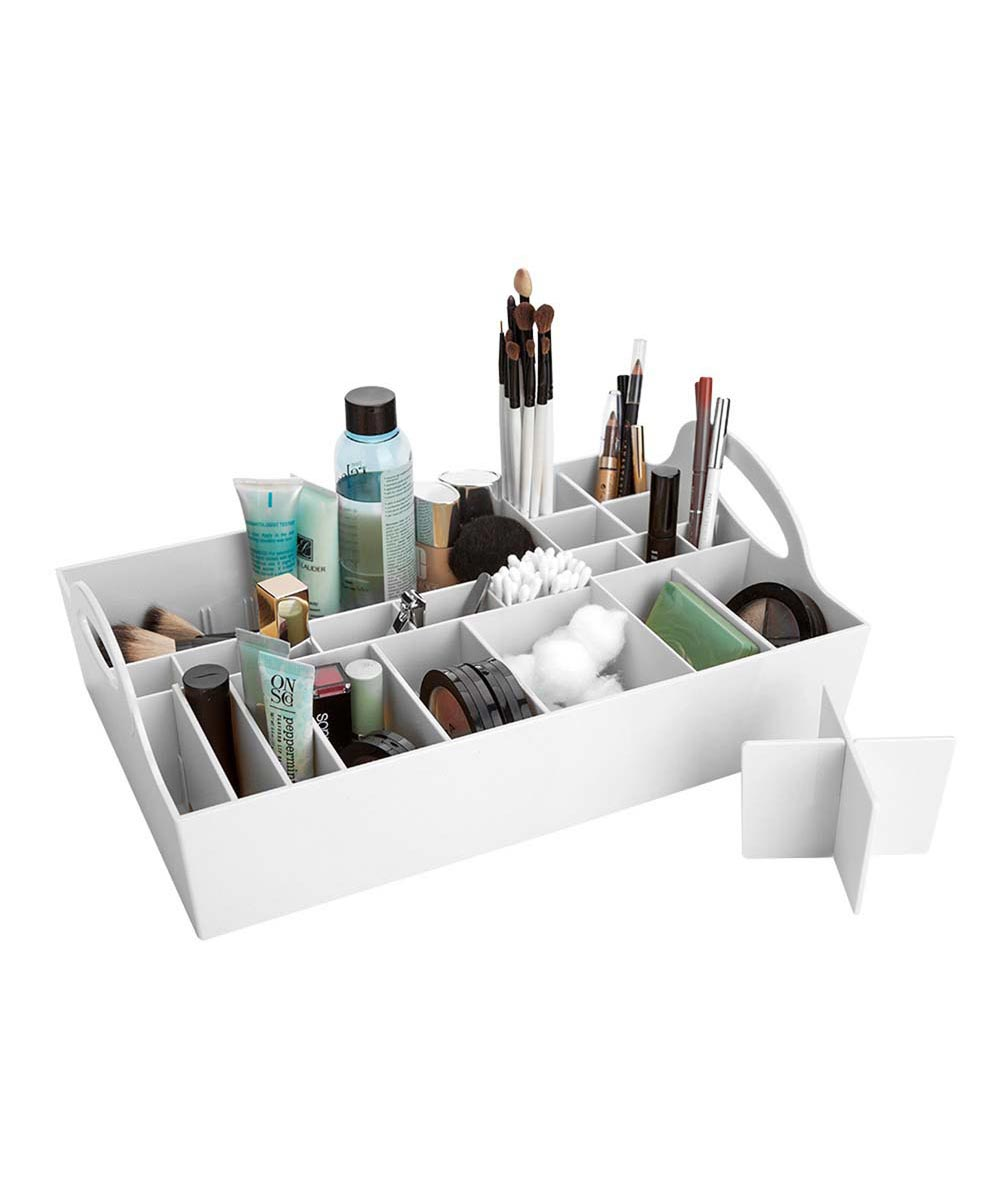 Adjustable Cosmetics Tray