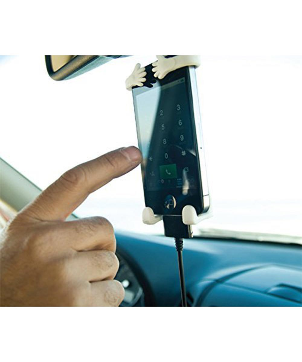 Bondi Hang It On Flexible Mobile Phone Holder with Hook, Assorted Colors