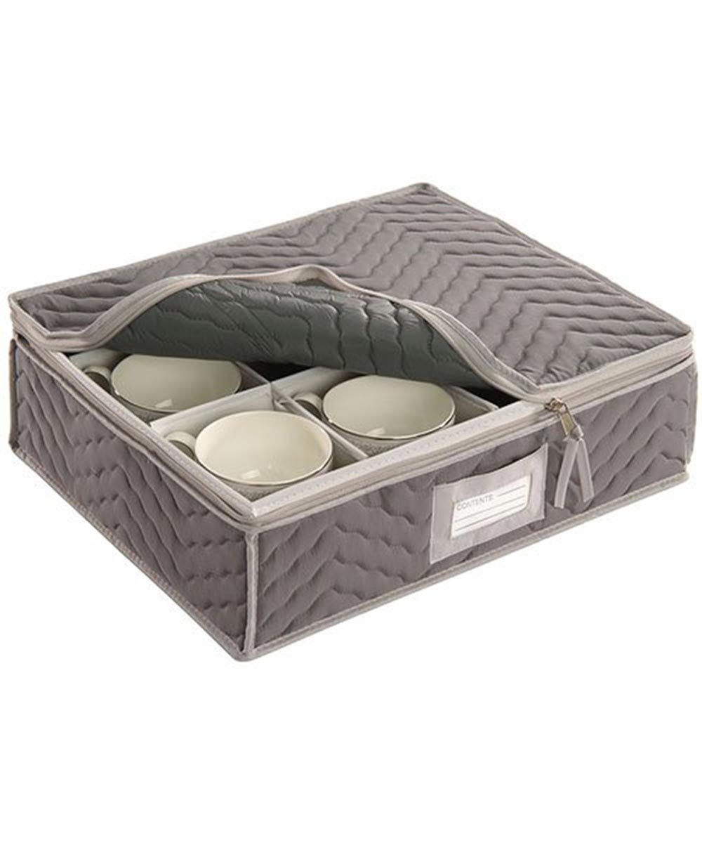 Deluxe Microfiber Cup Storage Chest