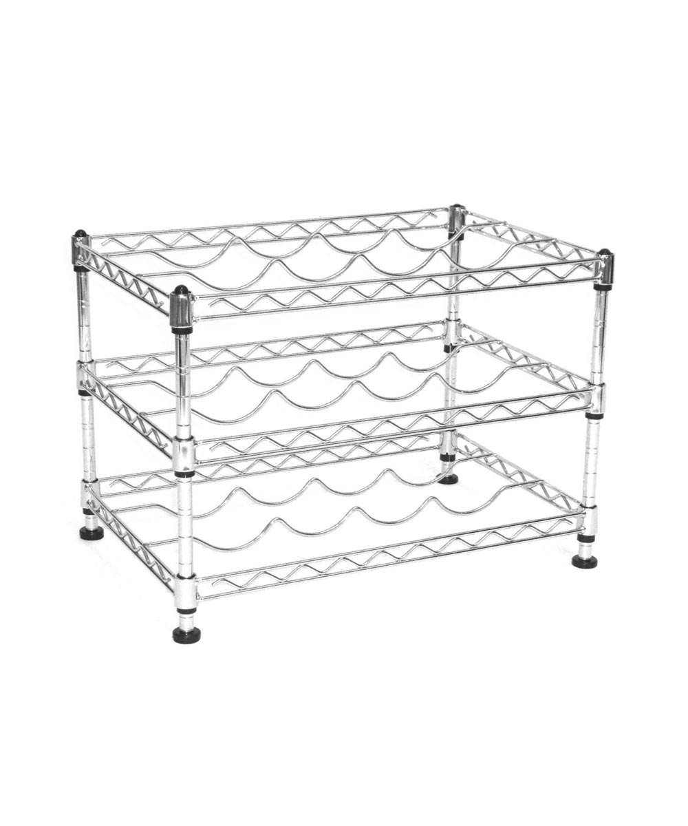 UltraZinc 12-Bottle Mini Wine Rack