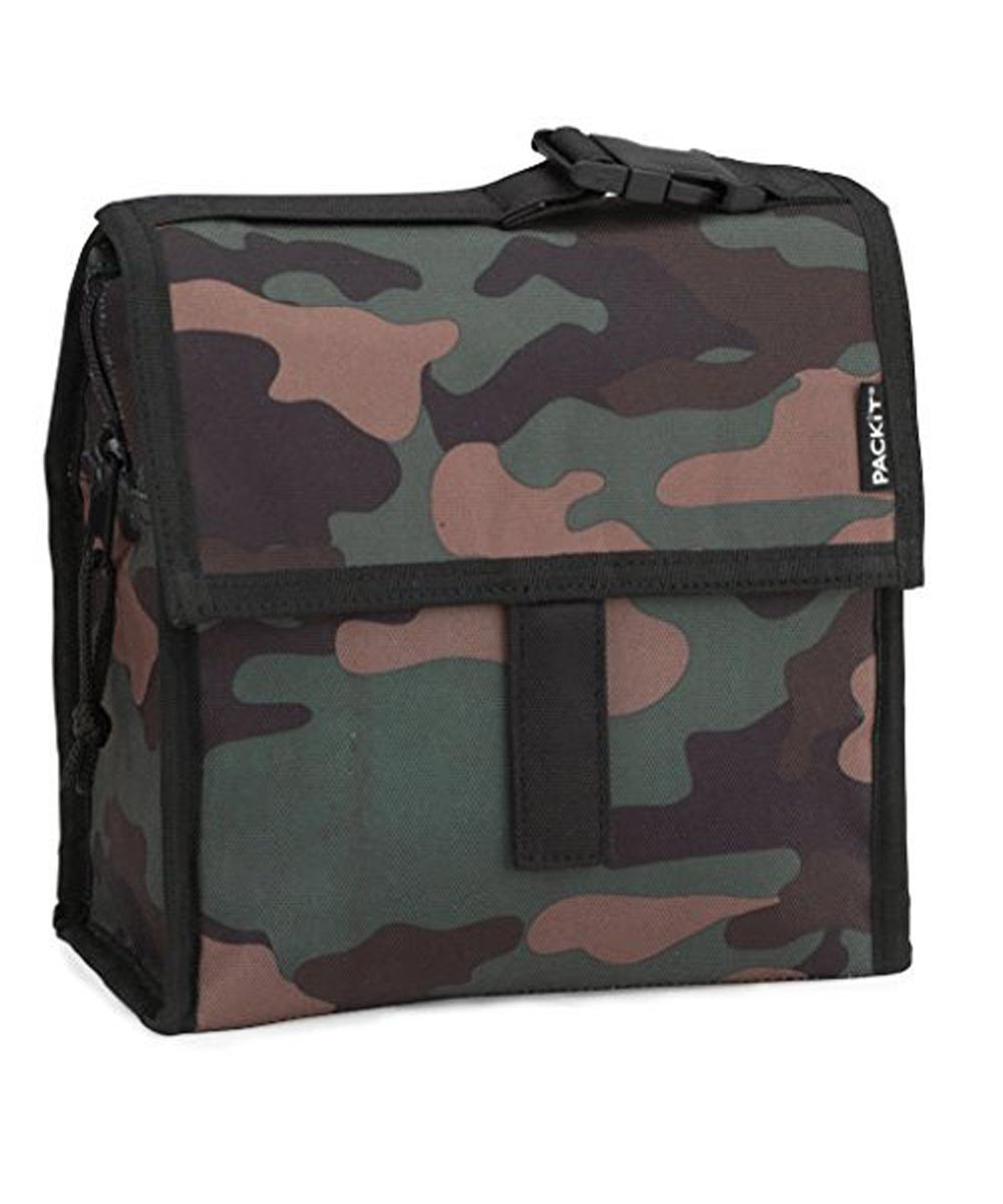 Freezable Lunch Bag, Camo Design