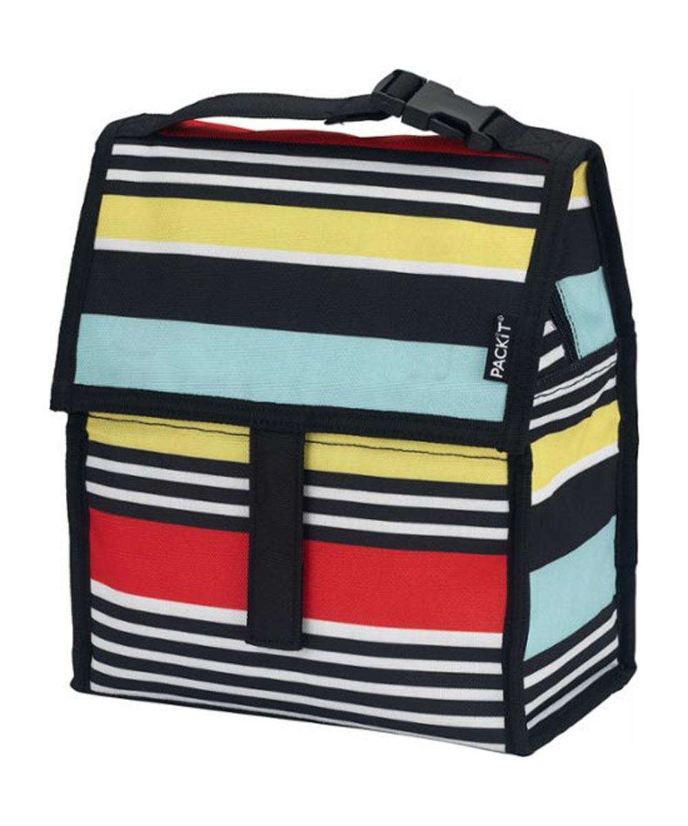 Freezable Lunch Bag, Surf Stripe Design