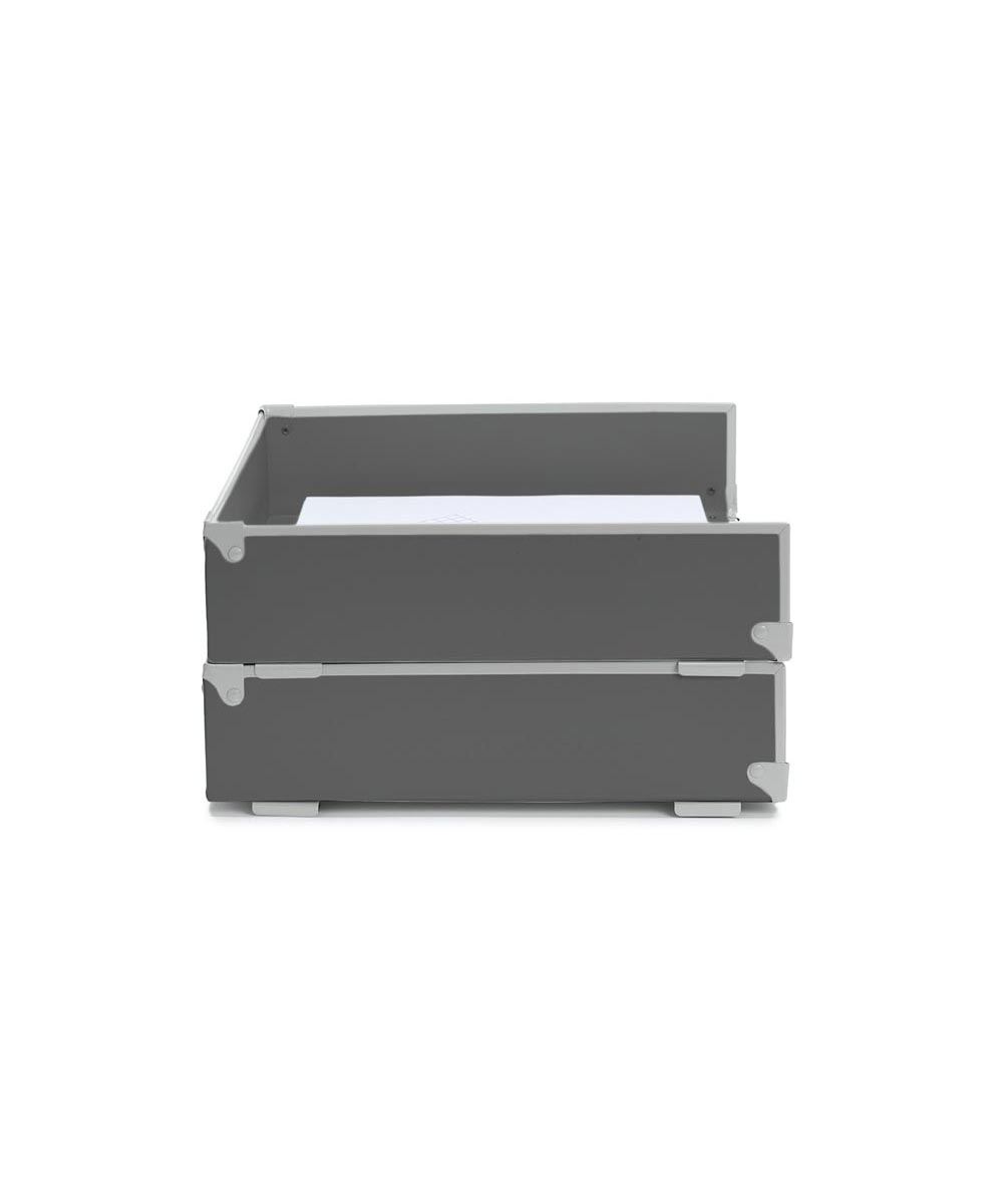 Frisco Letter Tray, Gray/Fog Color