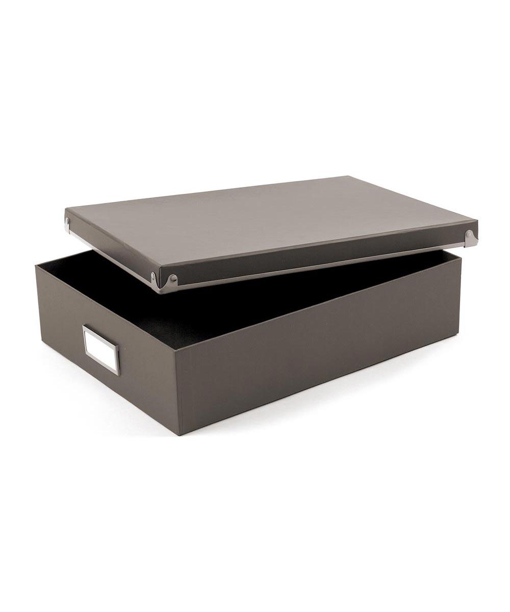 Frisco Paper Box, Gray/Fog Color