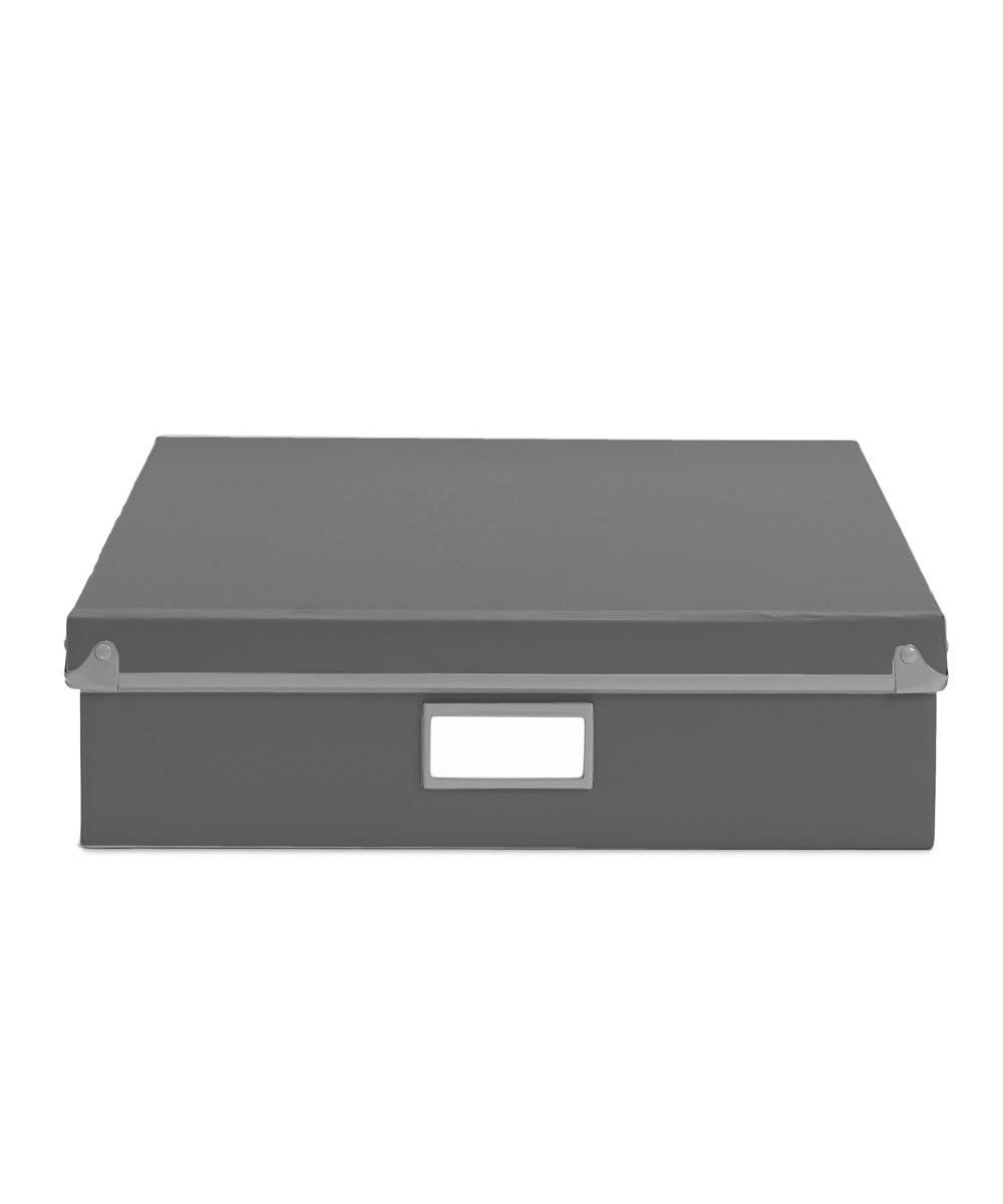 Frisco Document Box, Gray/Fog Color