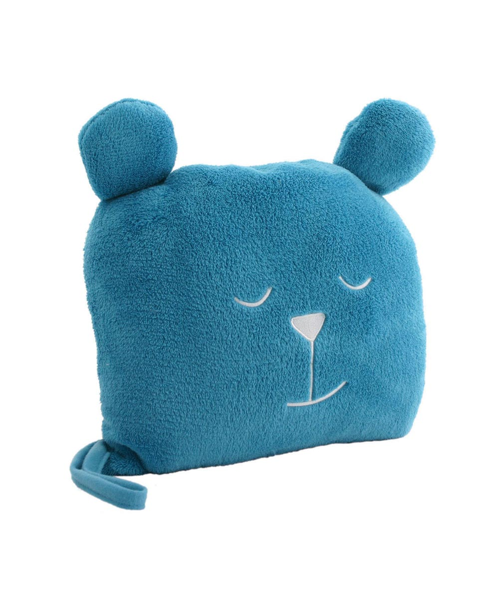 Undercover Bear Blanket & Pillow Combo, Turnberry Teal