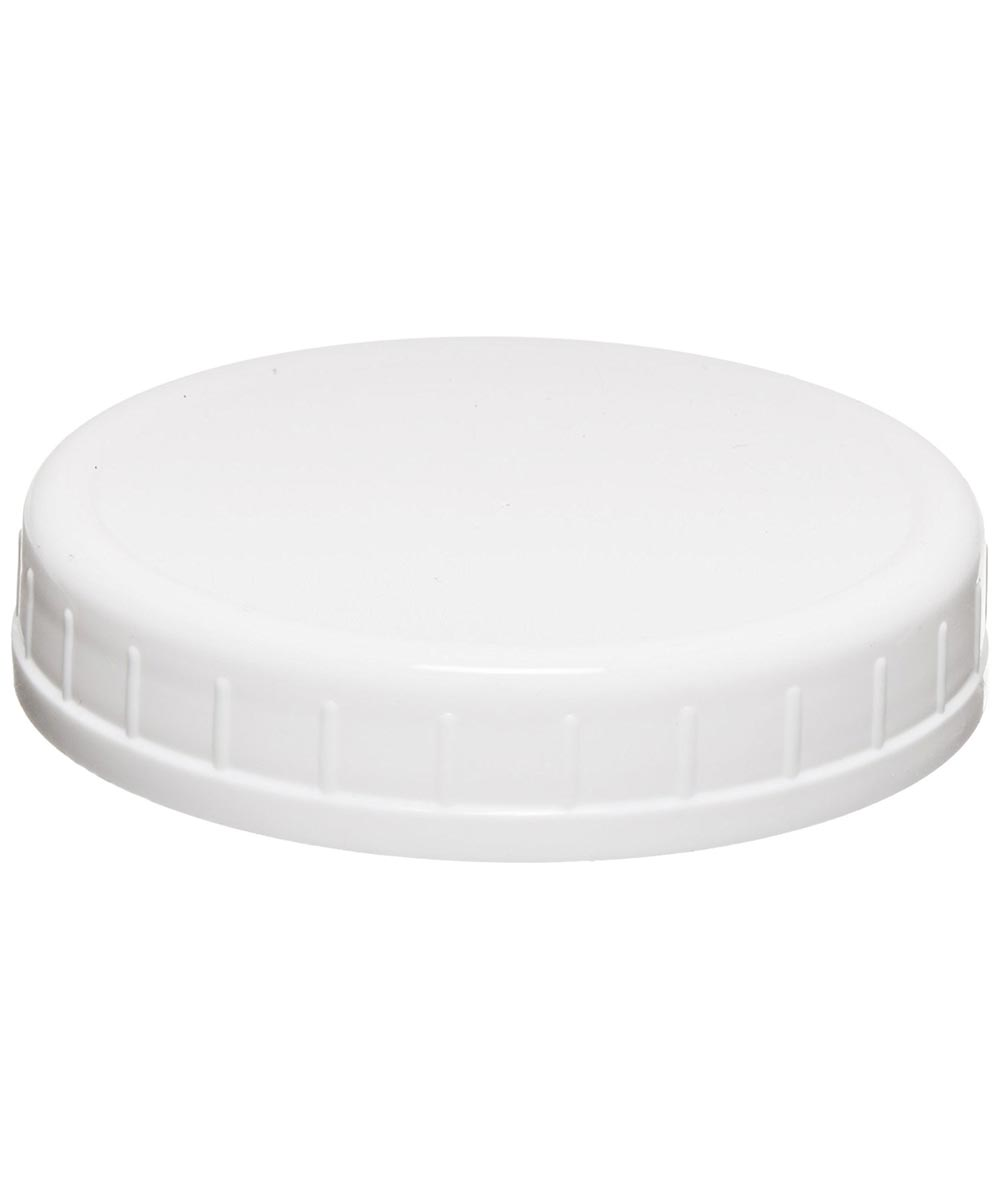 Plastic Storage Caps for Wide Mouth Mason Jars, 8 Count
