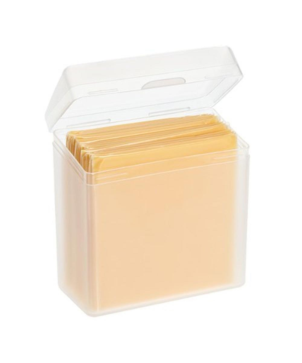 Cheese Slices Container, Clear