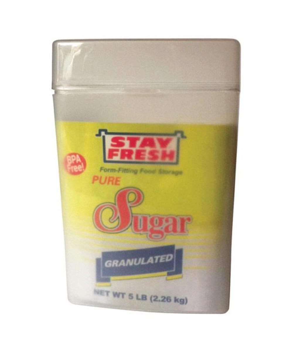 Sugar Container, Clear