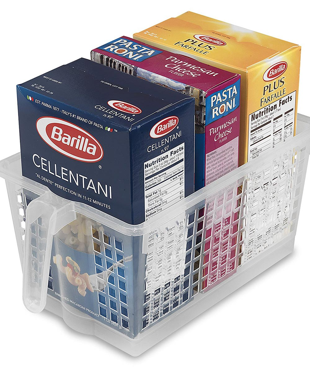 Medium Handy Basket, Clear
