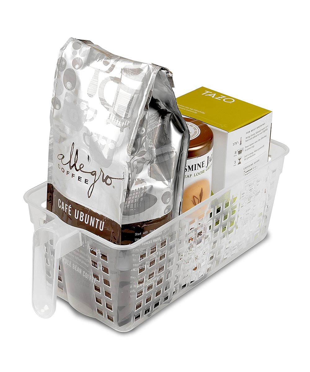 Small Handy Basket, Clear