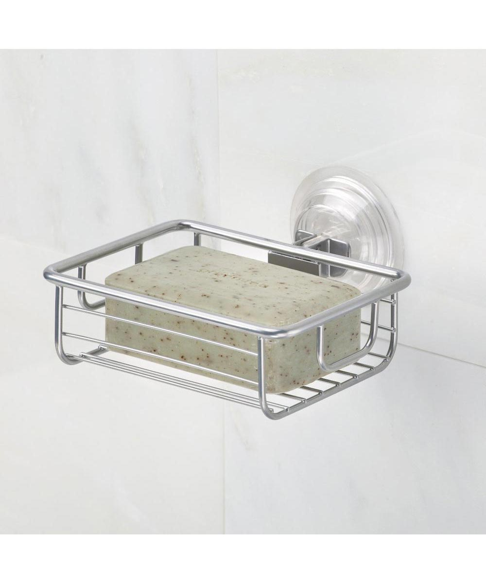 Classico Bathroom Suction Metal Wire Soap Dish