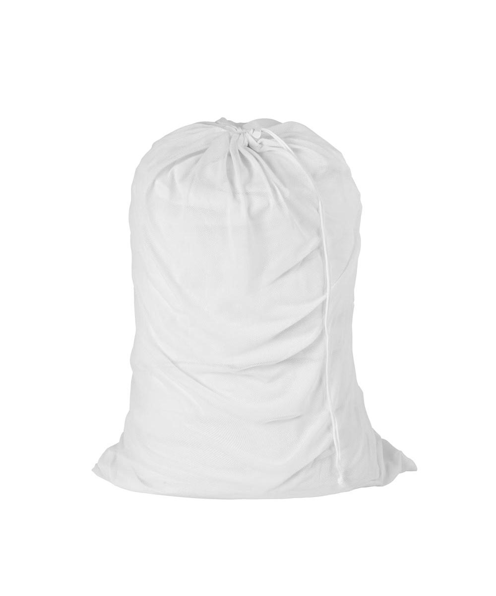 Mesh Laundry Bag, White