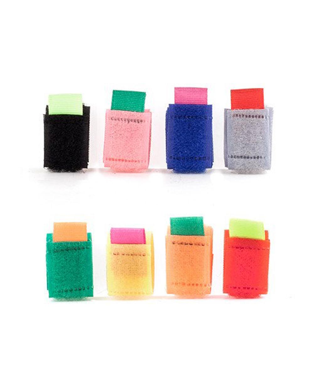 Cable Ties, Multi-Color 8-Pack