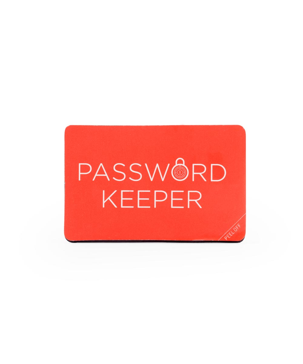 Wallet-Size Password Keeper Book
