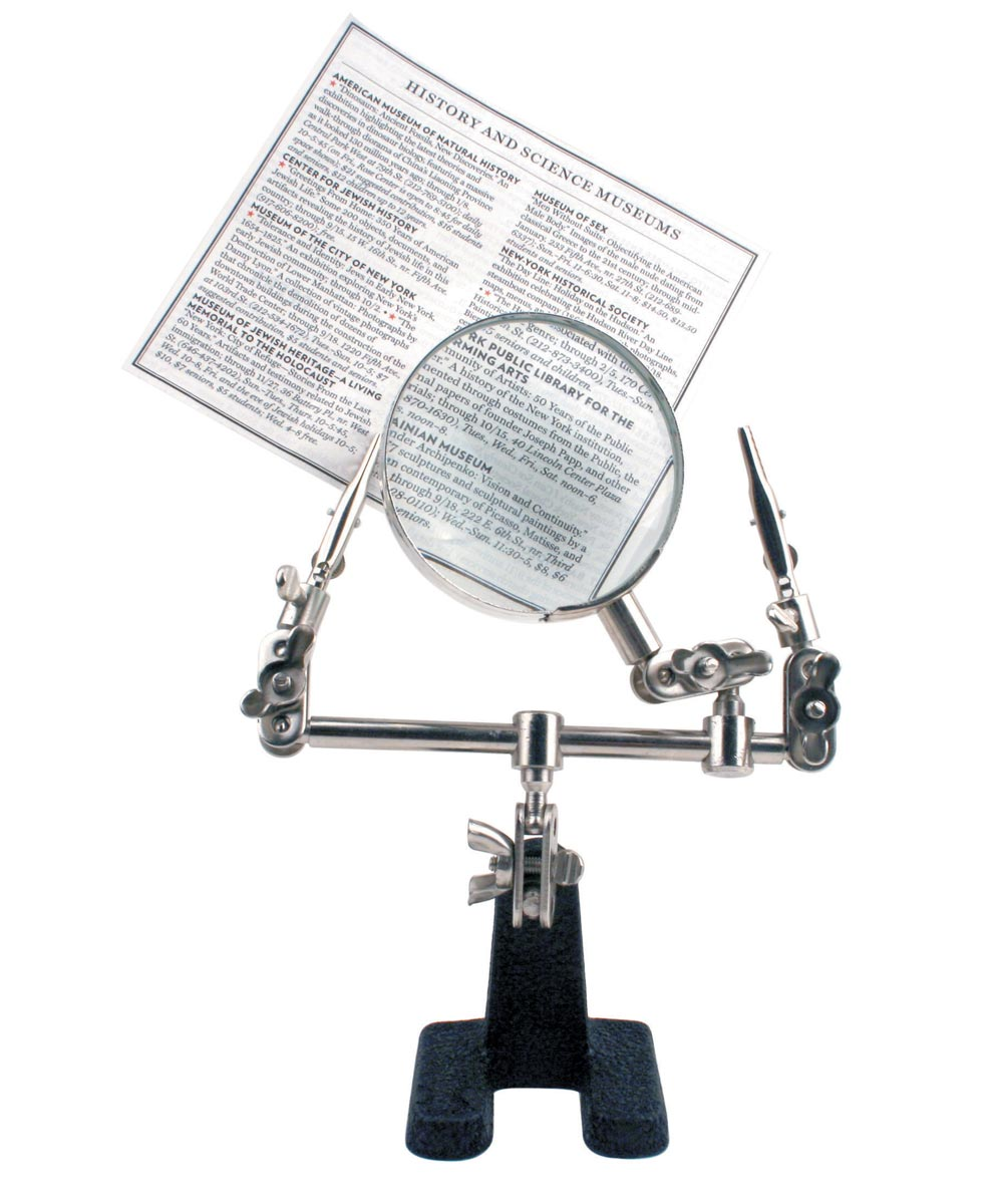 Little Helper Magnifying Glass with Weighted Base