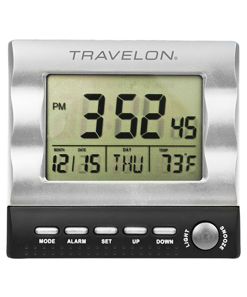 Large Display Travel Alarm Clock