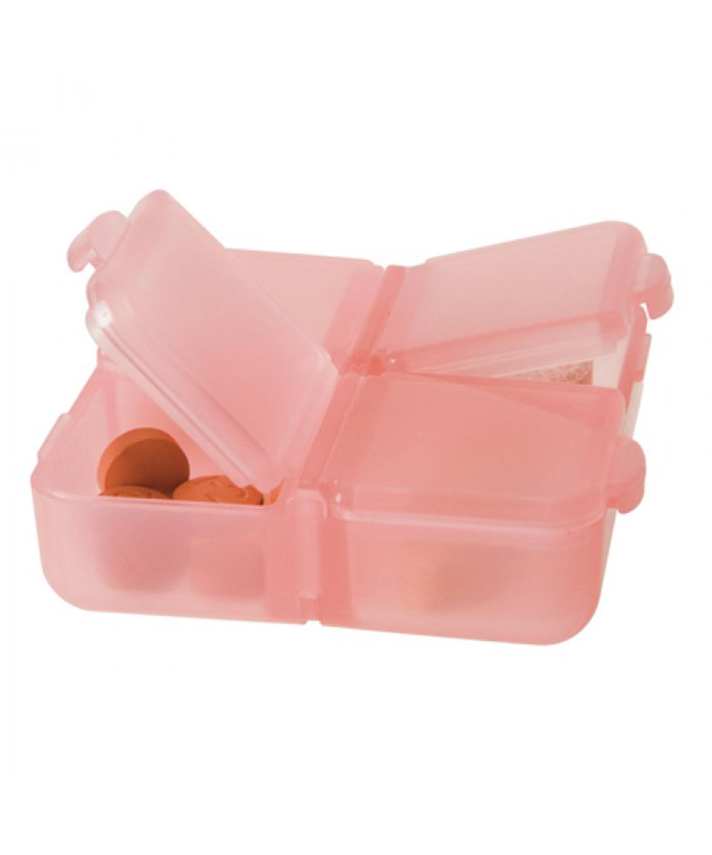 Plastic Pill Boxes, Set of 2